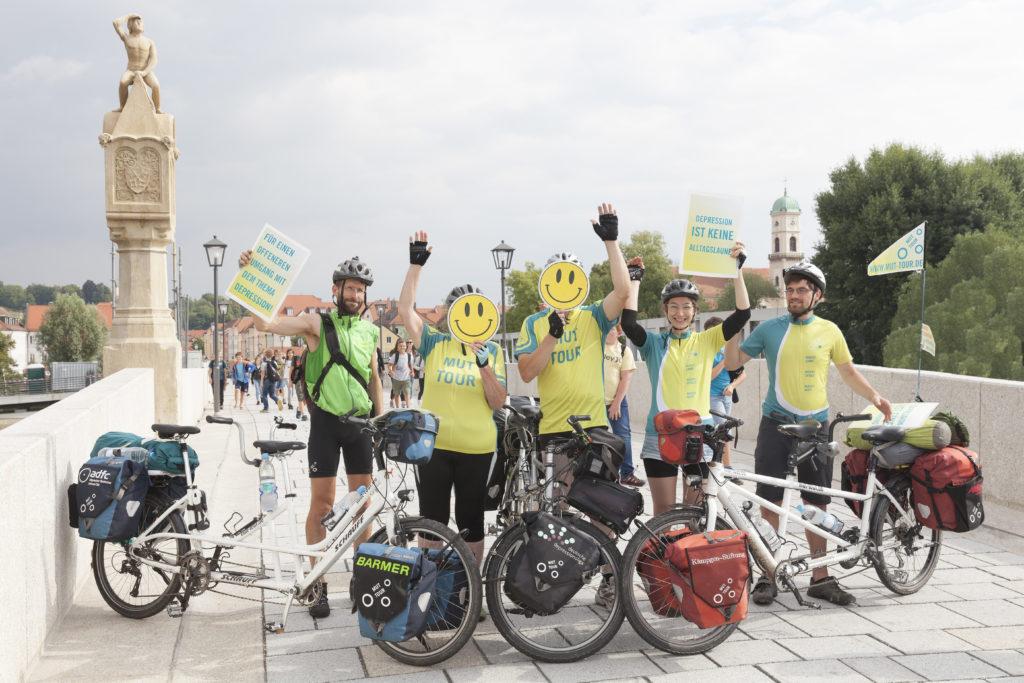 MUT-TOUR Team in Regensburg